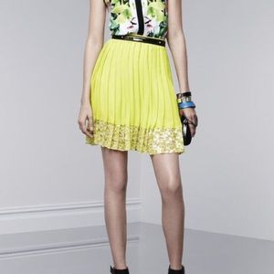Prabal Gurung for Target neon green skirt